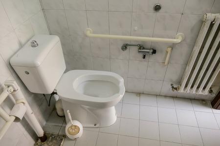 moderne private Toilette Toilette öffentliches Badezimmer Interieur