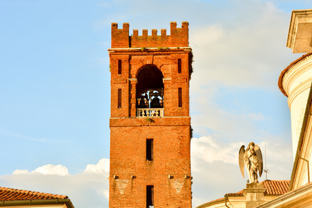 Photo Picture View of Castelfranco Veneto Medieval City in Italy