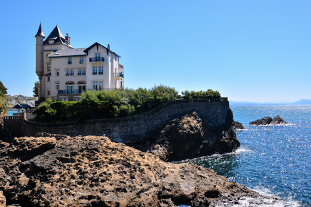 Photo picture details and landscapes of Biarritz city in France