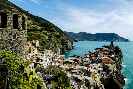 view of manarola cinque terre italy, beautiful photo digital picture