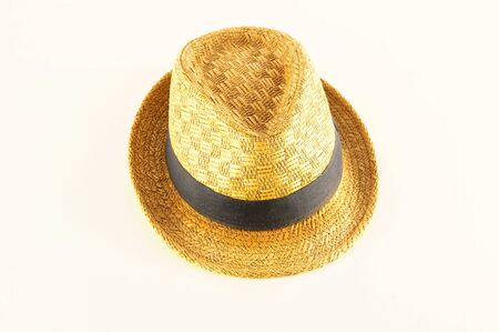 Close-up of hat Object on a White Background