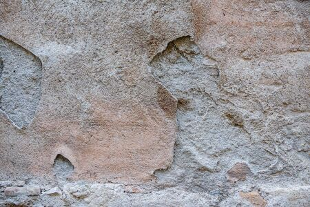 Photo Picture Closeup Old Weathered Peeling Wall Texture