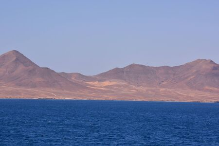 Picture View of Lanzrote in the Canary Islands 免版税图像