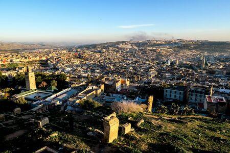 View of Medina in fes morocco, beautiful photo digital picture 版權商用圖片