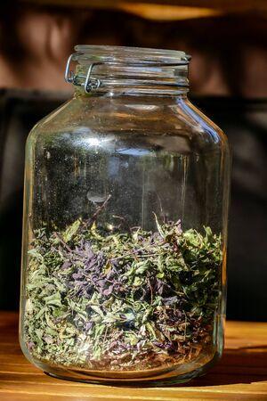 jar of herbs, beautiful photo digital picture