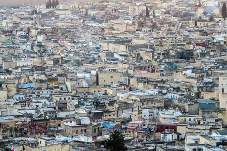 View of Medina in fes morocco, beautiful photo digital picture Foto de archivo