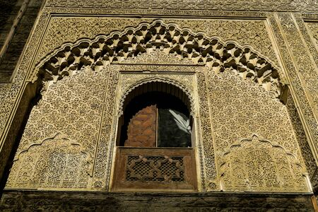 mosque in fes morocco, beautiful photo digital picture Imagens