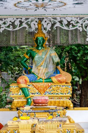 Inpeng temple in luang prabang laos south east asia, photo as a background