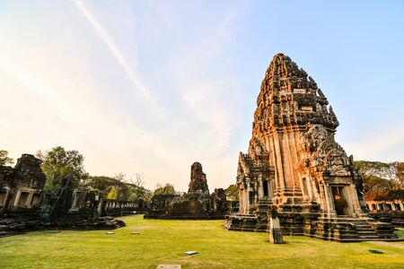 Beautiful photo picture of phimai thai ruins taken in thailand, Southeast Asia 版權商用圖片