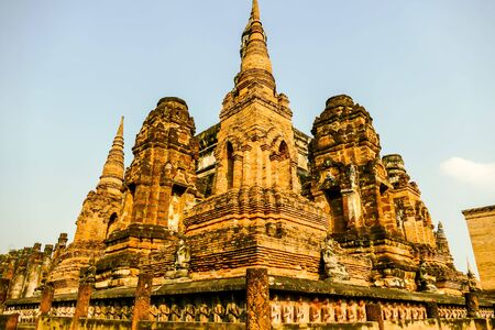 pagoda in thailand, beautiful photo digital picture