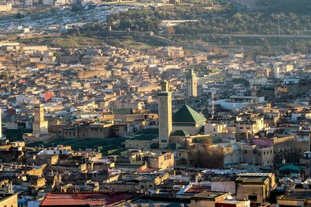 View of Medina in fes morocco, beautiful photo digital picture Zdjęcie Seryjne