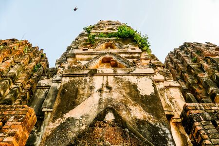 temple in ayutthaya thailand, beautiful photo digital picture
