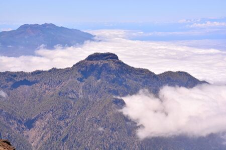 Photo Picture of a Valley in the Canary Islands Roque los Muchachos