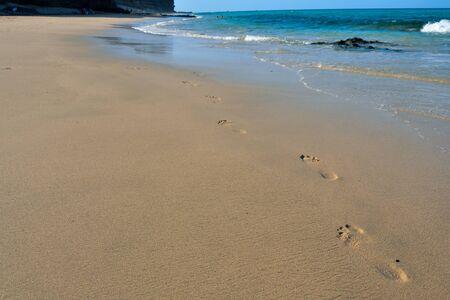 Photo Picture of the Beautiful Sand Ocean Beach Reklamní fotografie
