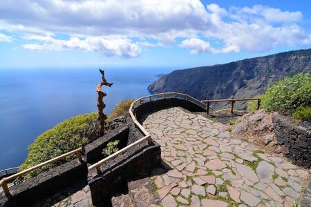 Landscape Of El Hierro Island Canary Islands Spain