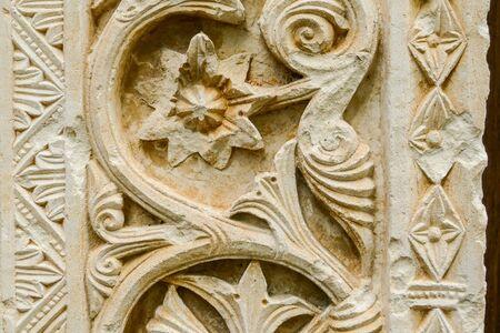 San Clemente abbey church ruins Abruzzo region Фото со стока