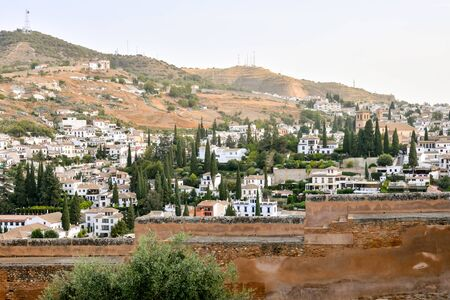 View of the Historical City Granada Andalucia Spain