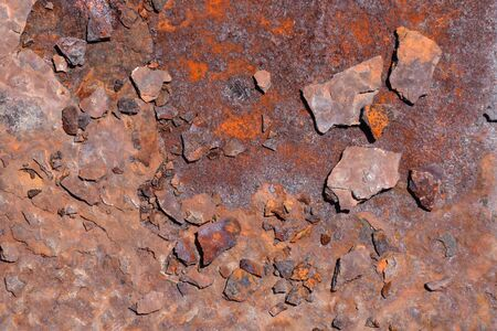Photo Picture of the Metal Rust Corroded Texture