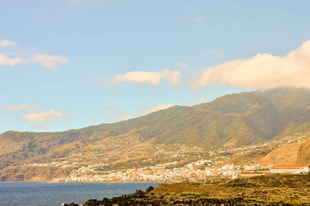 Sea Village at the Spanish Canary Islands.