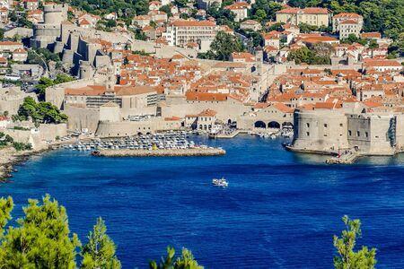 dubrovnik old town, beautiful photo digital picture Imagens