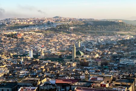View of Medina in fes morocco, beautiful photo digital picture Zdjęcie Seryjne - 133358832