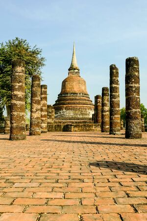 pagoda in ayutthaya thailand, beautiful photo digital picture