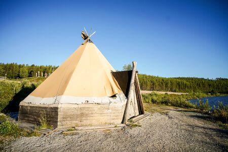 tent in a field, beautiful photo digital picture Reklamní fotografie