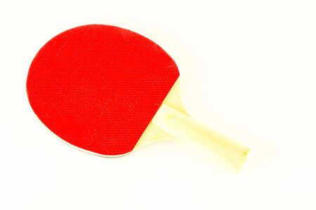 Close-up of  racket Object on a White Background