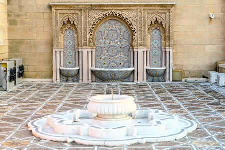 panoramic view of rabat city capital morocco, beautiful photo digital picture