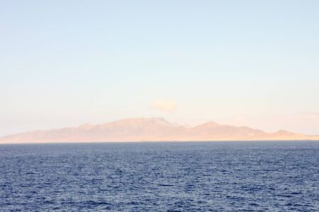 Picture View of Lanzrote in the Canary Islands Stockfoto