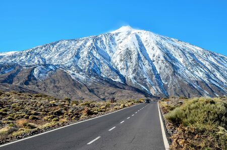 Desert Landscape in Volcan Teide National Park, Tenerife, Canary Island, Spain Stockfoto
