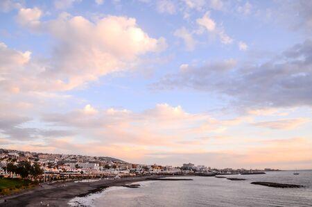 View of Playa de Fanabe Adeje Tenerife, Canary Islands, Spain