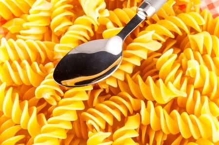 Photo Picture of the Classic Italian Style Pasta Food