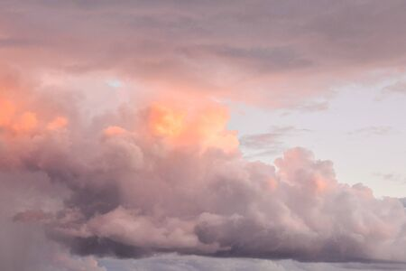 Photo Picture of Beautiful Cloudscape Clouds in the Sky