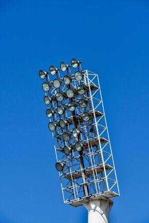 antenna on blue sky, photo as a background, digital image