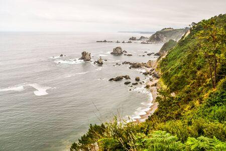 coast of sea, photo as a background, digital image Standard-Bild