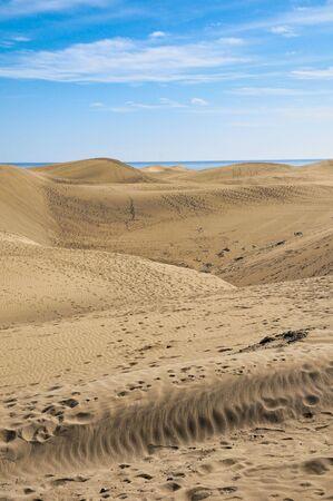 sand dunes in the desert, photo as a background Foto de archivo