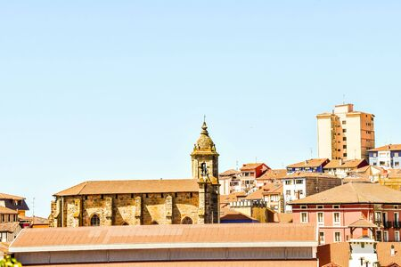 cathedral of segovia spain, photo as a background, digital image Stock Photo