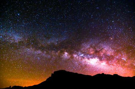 Night Sky Zdjęcie Seryjne