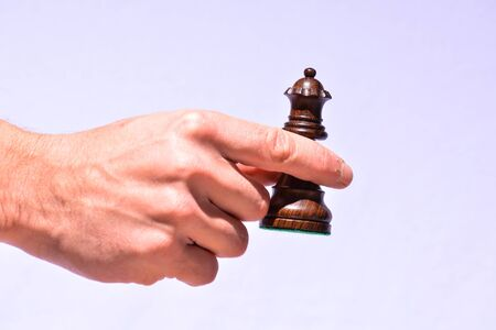 Photo Picture of the Classic Wooden Chess Piece