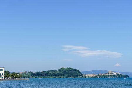 sea and blue sky, beautiful photo digital picture Stock fotó