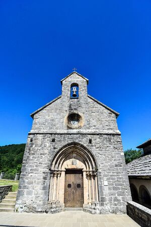 church, photo as a background, digital image Stock Photo
