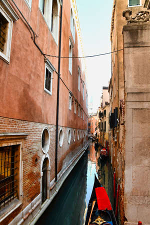 street in venice italy, photo as a background, digital image