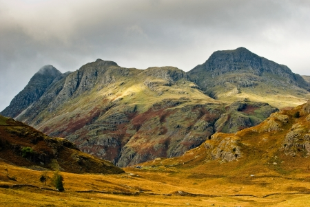 Moody views of the famous English mountains Stock Photo - 14968413