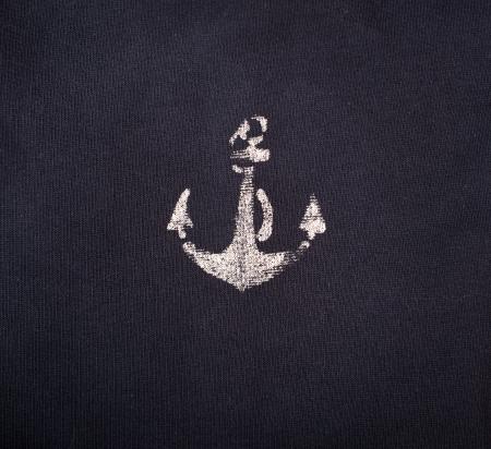 anchor textile blue background 版權商用圖片