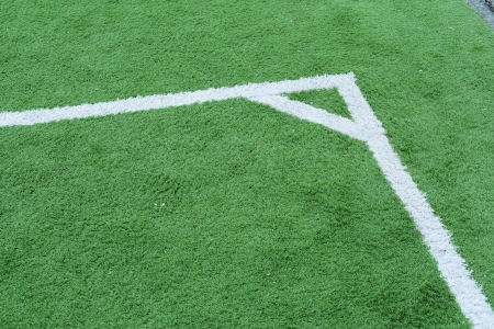 gro: football field line corner