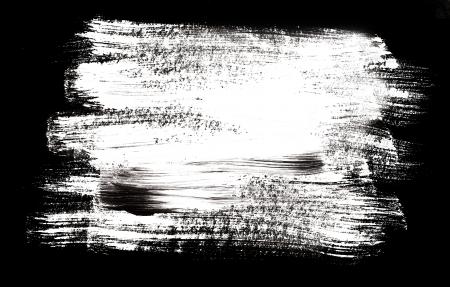 独自のテキストのためのスペースのブラシ ストローク 写真素材