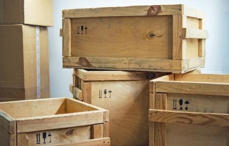 caixas de madeira postar pacote