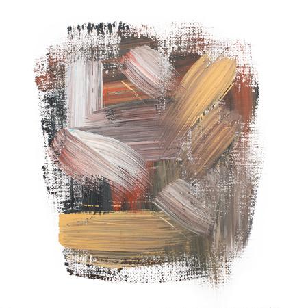 blotch: art paint brush rough dab stroke texture spot blotch Stock Photo