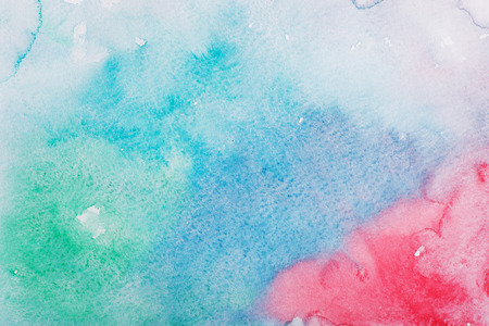 aquarelle: Abstract colorful hand draw watercolor aquarelle background